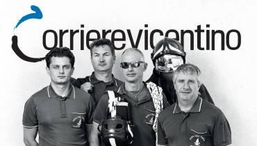 Eroi del soccorso nel nuovo Corriere Vicentino!
