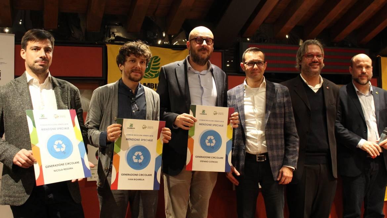 Paolino 3 premiato da Legambiente